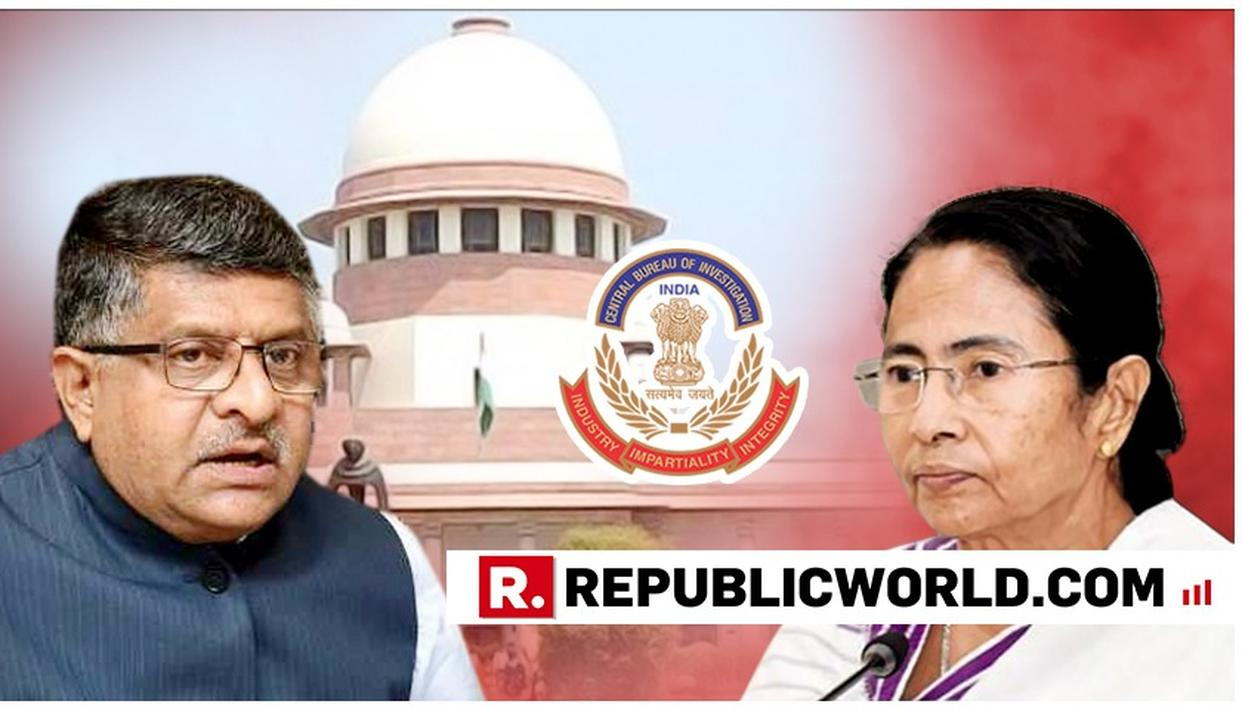 """IS IT WRONG FOR CBI TO FOLLOW THE SUPREME COURT'S INSTRUCTION?"", ASKS UNION MINISTER RAVI SHANKAR PRASAD WHILE GIVING A POINT-TO-POINT REBUTTAL ON #MAMATABLOCKSCBI"