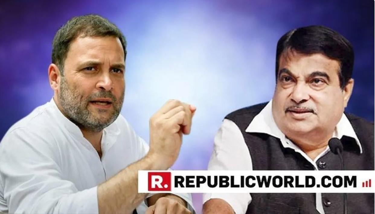 'I DON'T NEED YOUR CERTIFICATE', UNION MINISTER NITIN GADKARI HITS OUT AT RAHUL GANDHI FOR HIS 'GUTS' COMMENT