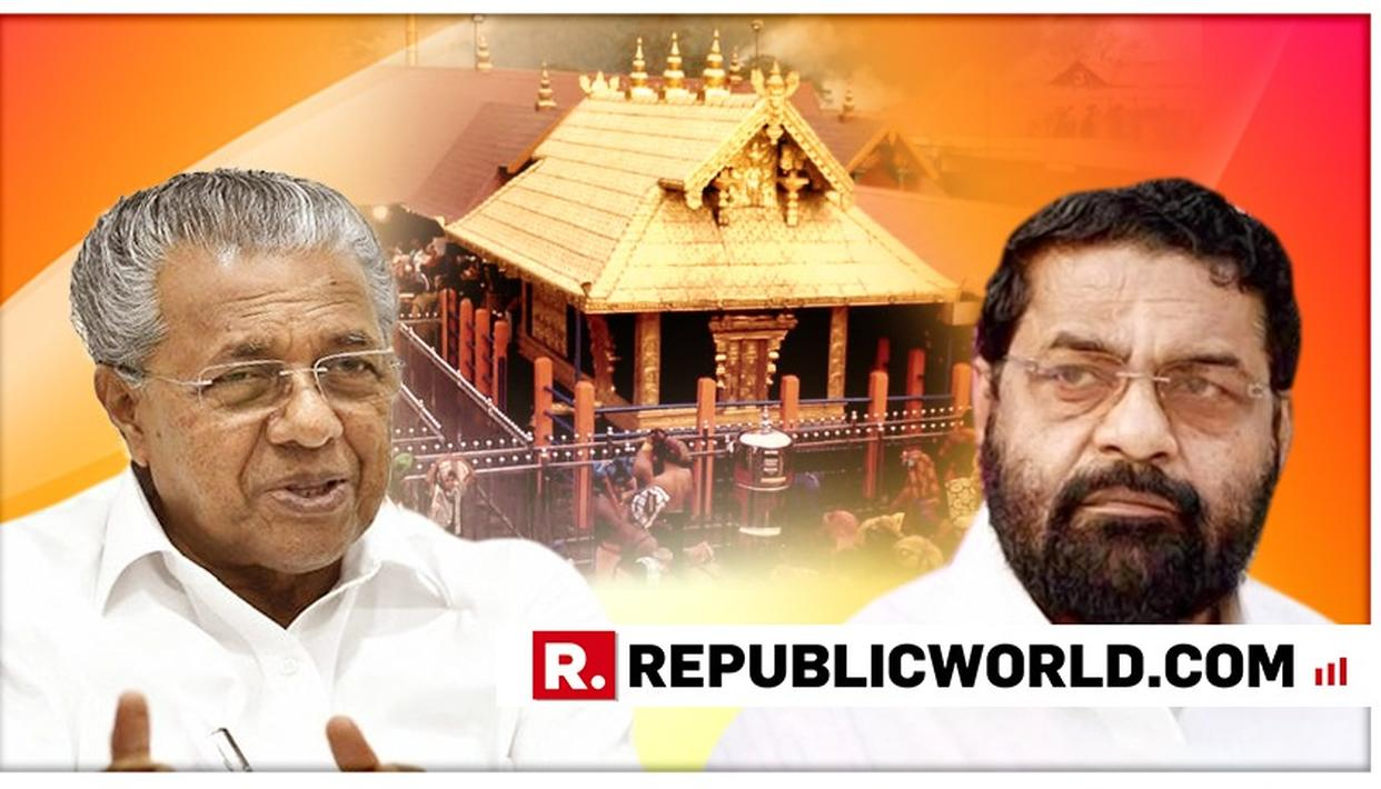 DEVASWOM BOARD MINISTER IN THE KERALA ASSEMBLY SAYS ONLY 2 WOMEN ENTERED SABARIMALA TEMPLE