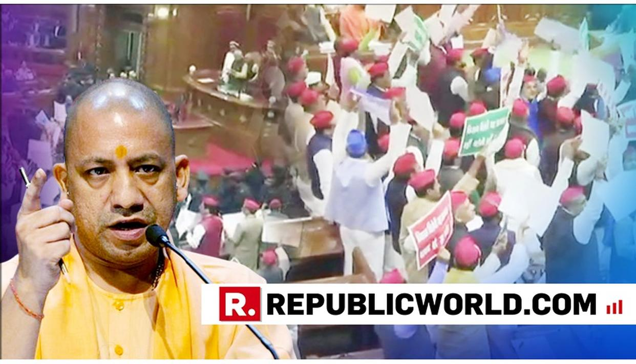 WATCH: CM YOGI ADITYANATH RAGES AT 'HOOLIGANISM' OF SP-BSP MEMBERS FOR THROWING PAPERS AT THE GOVERNOR IN THE UP ASSEMBLY