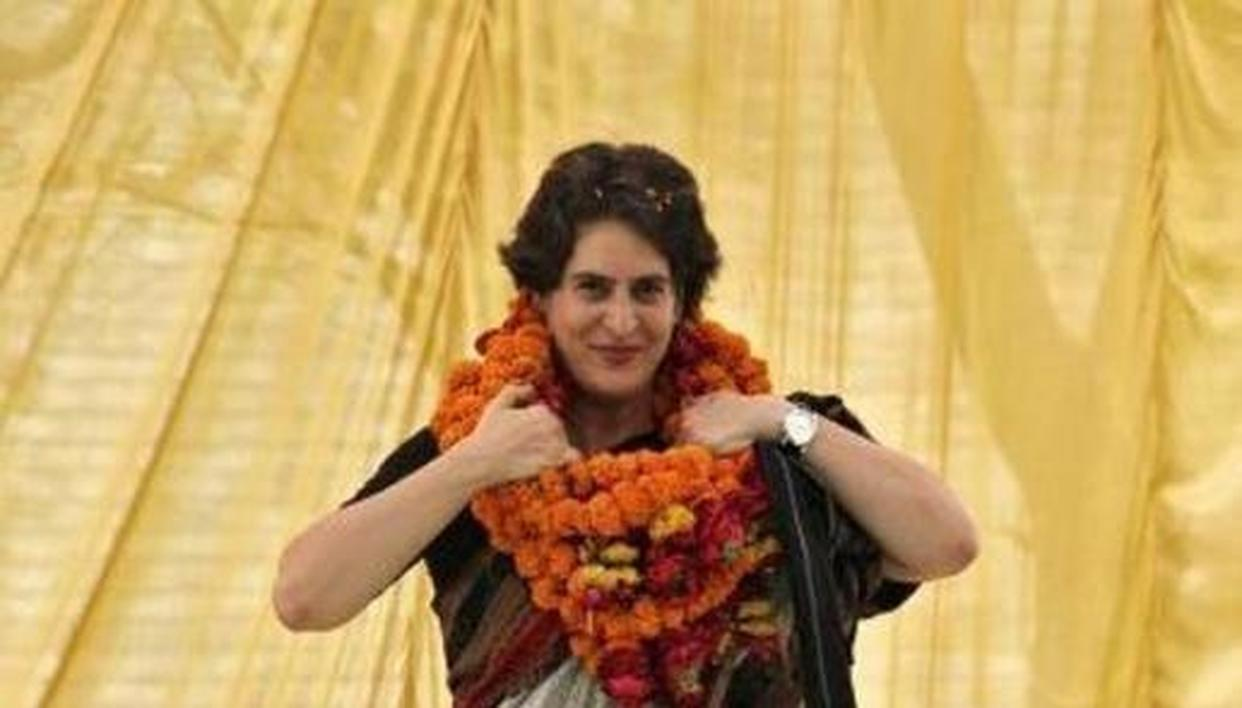 2019 LOK SABHA POLLS:  PRIYANKA GANDHI HOLDS AT RAHUL GANDHI'S RESIDENCE FOR 'MISSION' UP'