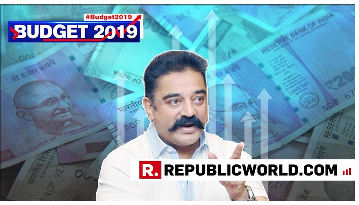 "MNM CHIEF KAMAL HAASAN SLAMS GOVERNMENT'S 'SELF-SERVING' INTERIM BUDGET, CALLS IT ""MONEY FOR VOTES"""