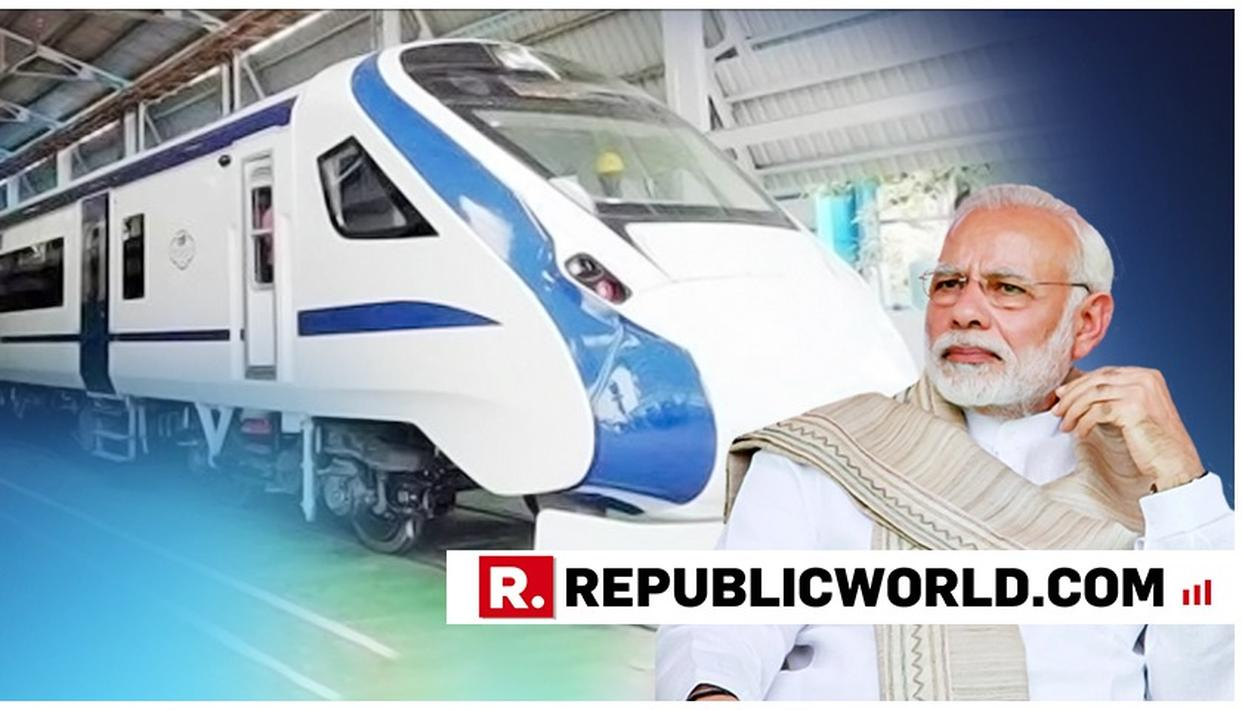 PM MODI TO FLAG OFF VANDE BHARAT EXPRESS ON FEBRUARY 15 FROM NEW DELHI RAILWAY STATION