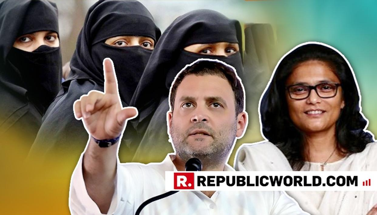 WATCH: CONGRESS PROMISES TO SCRAP TRIPLE TALAQ LAW IF VOTED TO POWER IN 2019