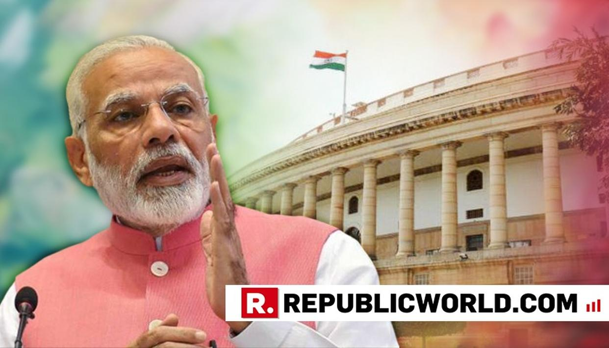 """WATCH: """"WHILE CRITICIZING ME AND BJP, SOME END UP CRITICIZING THE COUNTRY"""", SAYS PM MODI AS HE HITS OUT AT OPPOSITION IN HIS PARLIAMENT SPEECH"""