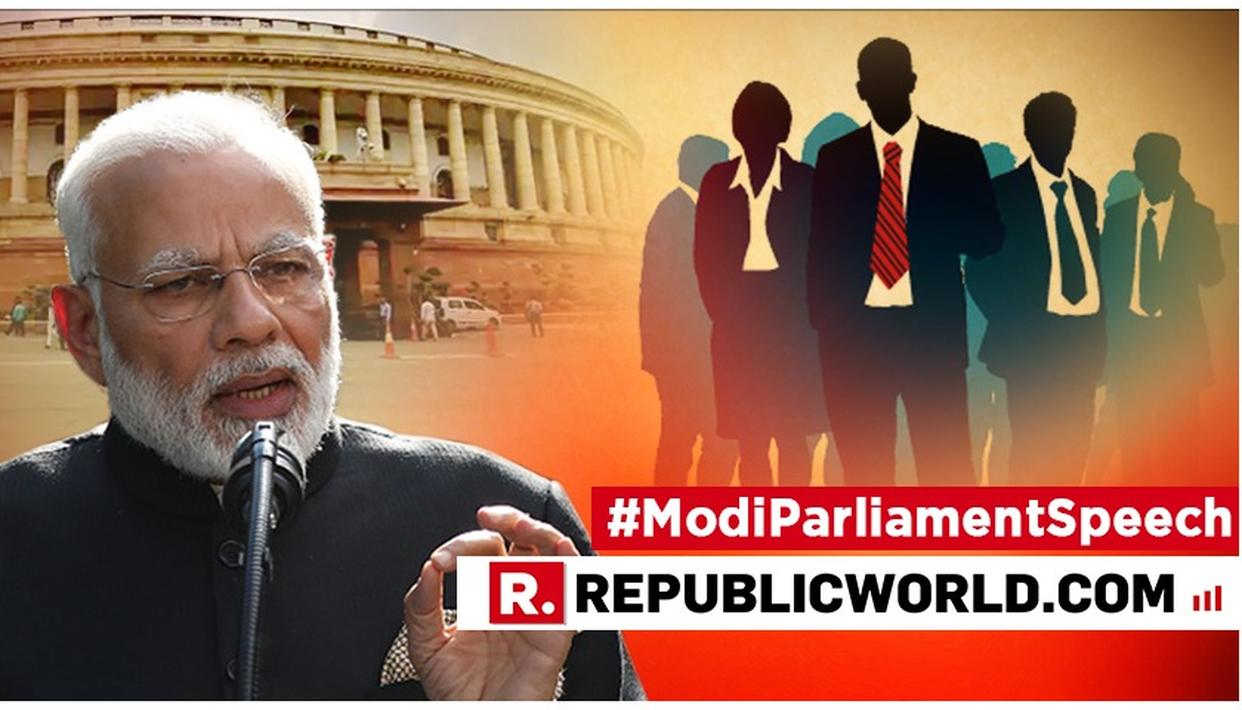 WATCH: PM MODI SETS NUMBERS STRAIGHT IN HIS BLISTERING ATTACK ON CONGRESS FOR 'SPREADING LIES' OVER EMPLOYMENT FIGURES