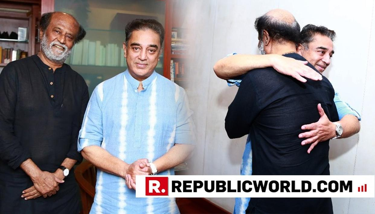 ACTOR-TURNED-POLITICIAN AND MNM CHIEF KAMAL HAASAN MEETS SUPERSTAR RAJINIKANTH, DETAILS HERE