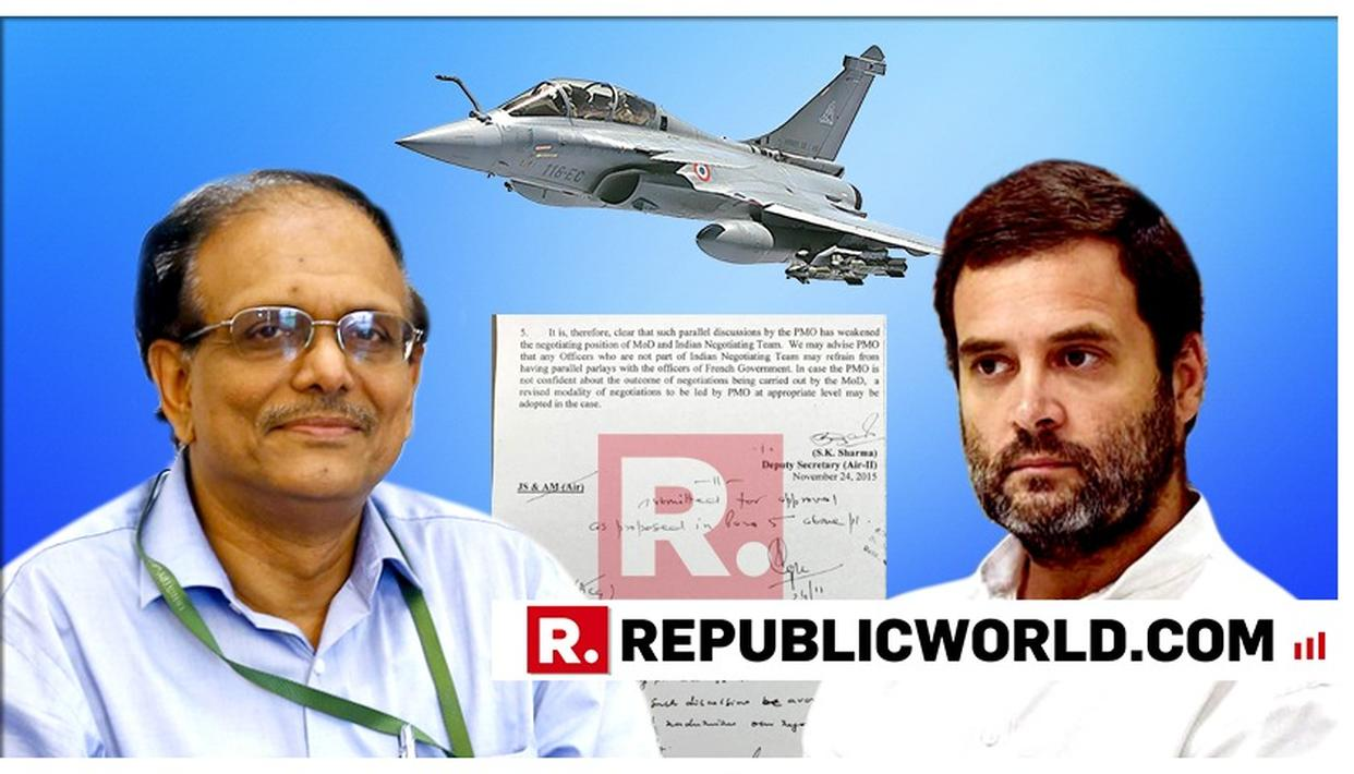 NOT PRICING BUT SOVEREIGN GUARANTEE!: THEN DEFENCE SECRETARY PUNCTURES OPPOSITION'S ATTACK OVER RAFALE DISSENT NOTE