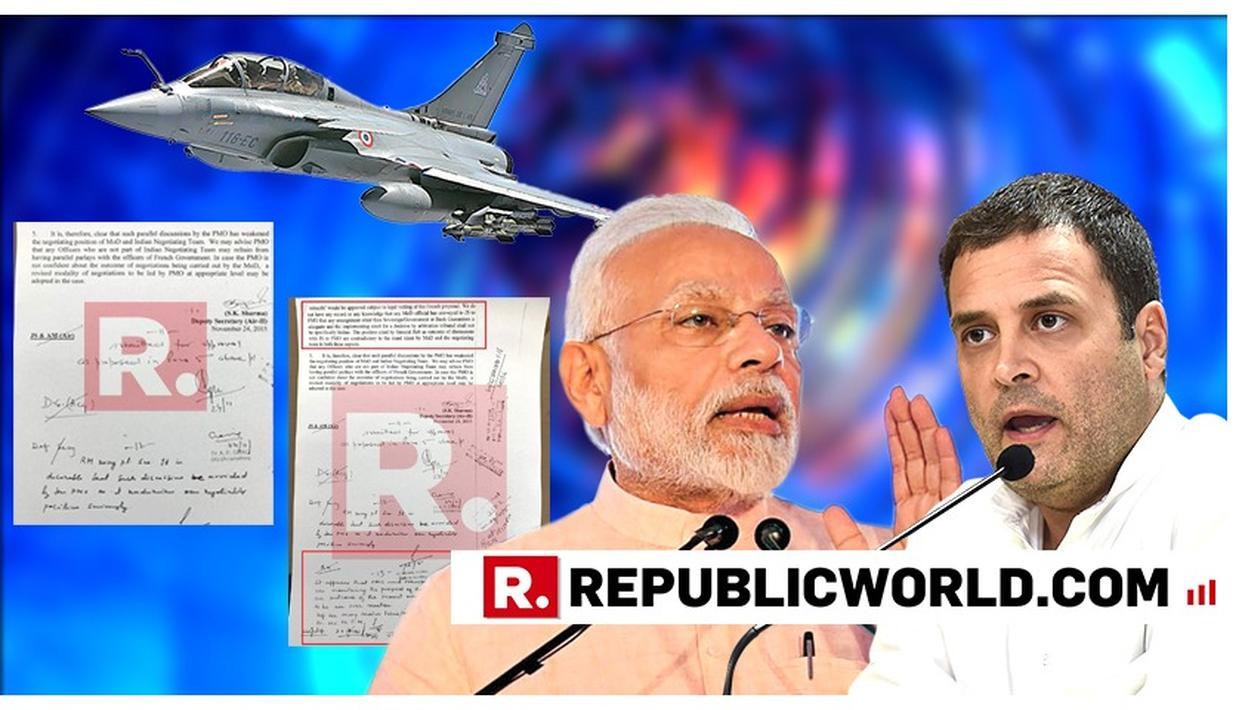"THESE ARE THE PARTS THAT WERE CUT FROM THE LETTER RAHUL GANDHI USED TO MAKE HIS RAFALE ""PARALLEL NEGOTIATIONS"" ATTACK AT PM MODI"