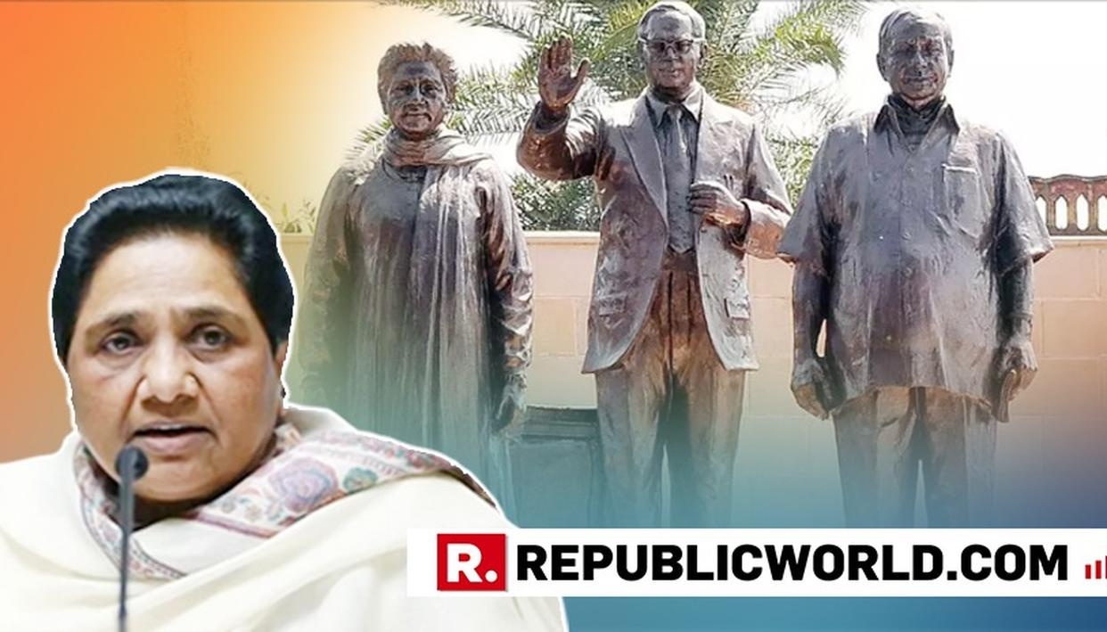 MAYAWATI DEFENDS SPLURGE ON STATUES AFTER SUPREME COURT RAP, SAYS THE MASSIVE FIGURES BRING REVENUE TO UP