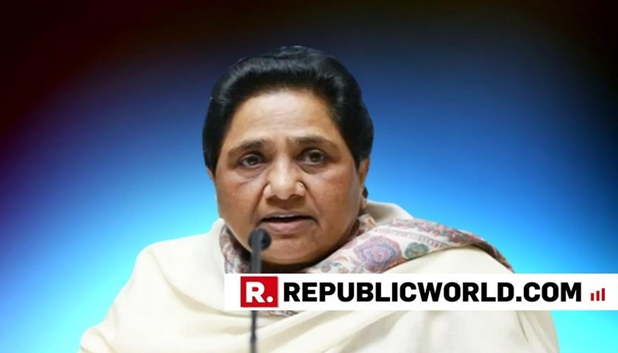 MAYAWATI ASKS BJP LEADERS, MEDIA TO NOT DISTORT ORAL OBSERVATION OF SC