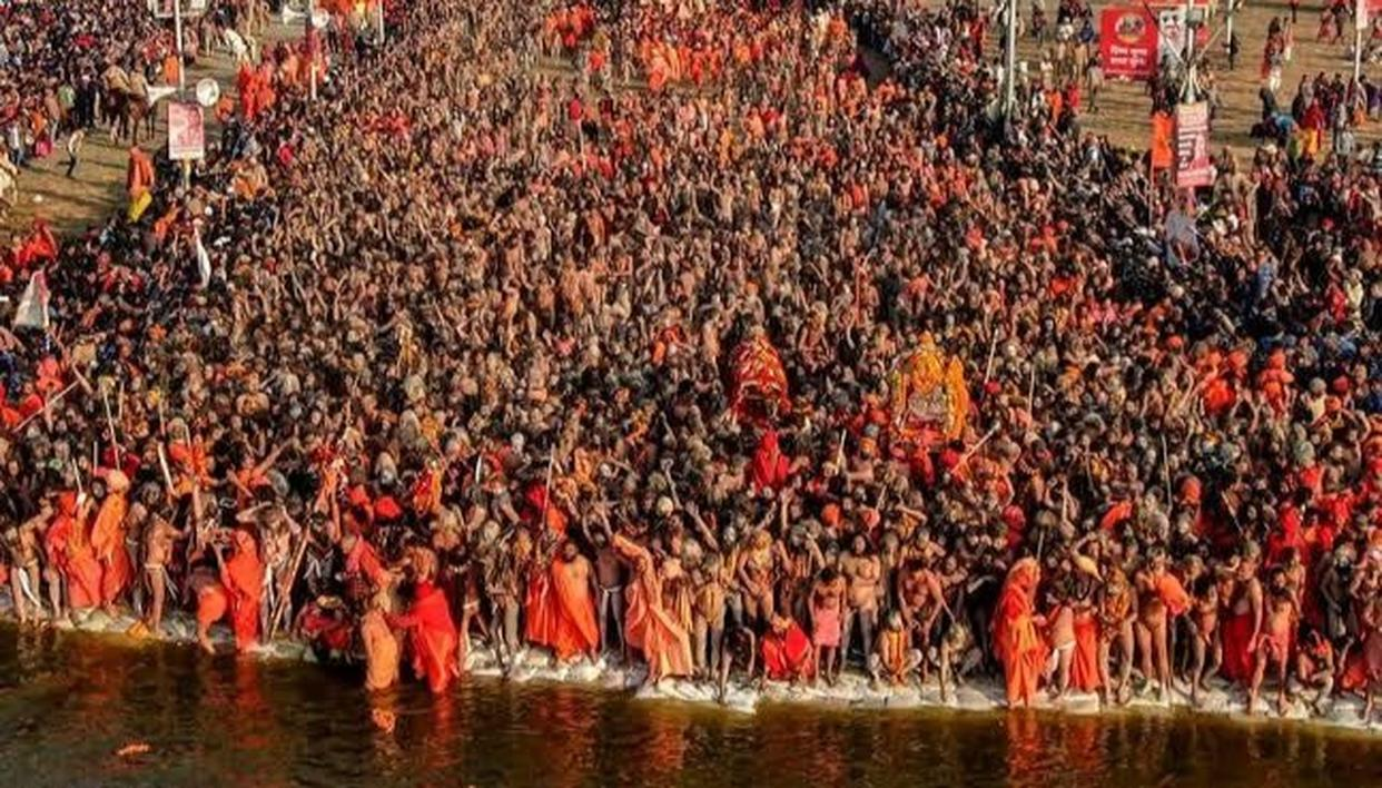 KUMBH MELA 2019: AS PRAYAGRAJ PREPARES FOR THE THIRD SHAHI SNAN, 2 CRORE DEVOTEES EXPECTED TO TAKE HOLY DIP
