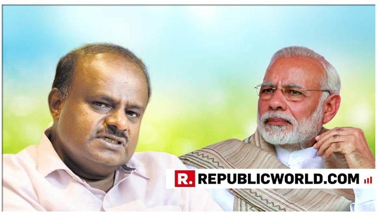"""PM MODI LAUNCHES STINGING ATTACK ON JDS-CONGRESS COALITION, SAYS KUMARASWAMY HAS BECOME """"PUNCHING BAG"""" HEADING """"HELPLESS"""" GOVERNMENT"""