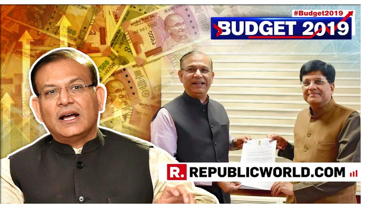 'IF LAST 4 BUDGETS WERE CAKES, THIS YEAR'S WAS THE ICING', EXCLAIMS JAYANT SINHA