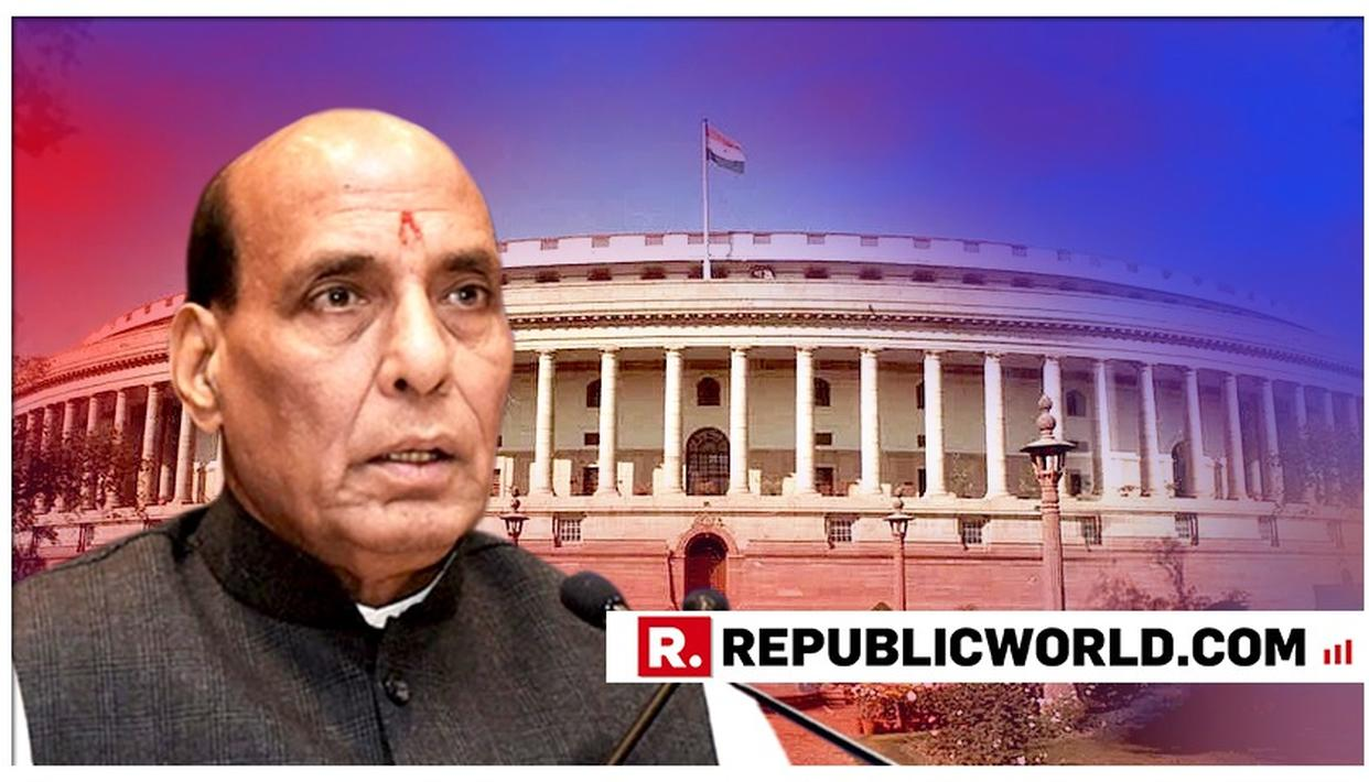 CITIZENSHIP AMENDMENT BILL TO BE TABLED IN RAJYA SABHA BY HOME MINISTER RAJNATH SINGH AMID PROTESTS