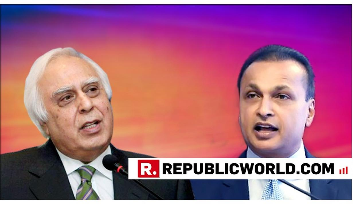 TWITTERATI CAN'T GET OVER KAPIL SIBAL ATTACKING ANIL AMBANI ON RAFALE, BUT DEFENDING HIM IN COURT HOURS LATER