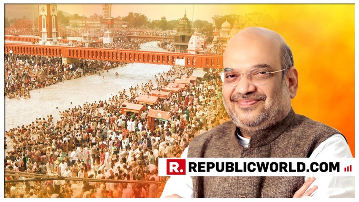 BJP CHIEF AMIT SHAH TO TAKE A HOLY DIP IN KUMBH, MEET WITH SEERS. FOLLOW LIVE UPDATES HERE