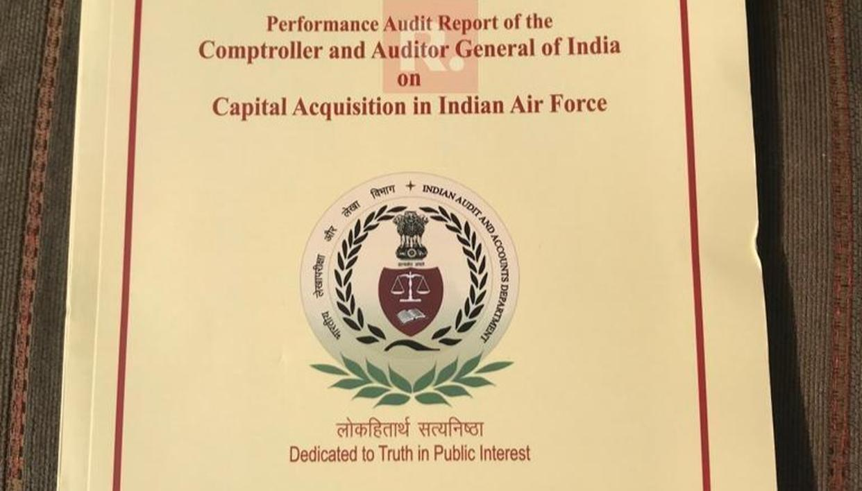 CAG RAFALE REPORT ACCESSED: NDA DEAL 2.86% CHEAPER