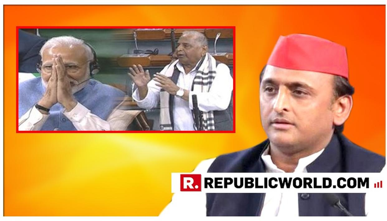 WATCH: SAMAJWADI PARTY IN DENIAL OVER MULAYAM YADAV'S 'HOPE MODI RETURNS AS PM' DECLARATION, SAYS AKHILESH YADAV'S CHIEF