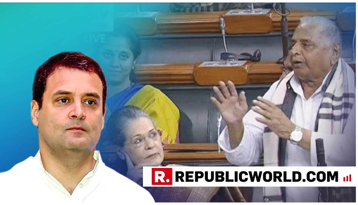 WATCH THIS: RAHUL GANDHI'S RESPONSE WHEN CONFRONTED WITH MULAYAM SINGH'S 'MODI FOR PM AGAIN' SURPRISE