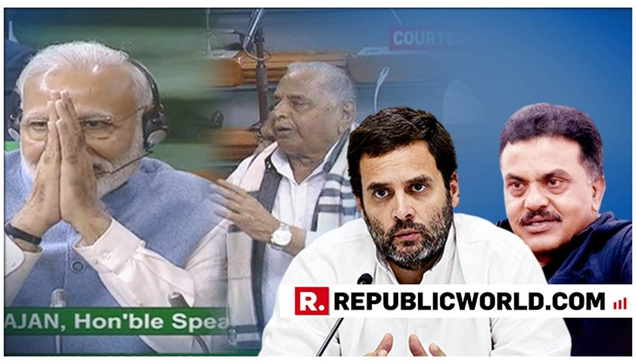 RIGHT ON CUE: SANJAY NIRUPAM INSULTS MULAYAM SINGH RIGHT AFTER RAHUL GANDHI SAYS HE RESPECTS HIM, OVER 'MODI FOR PM AGAIN' SURPRISE