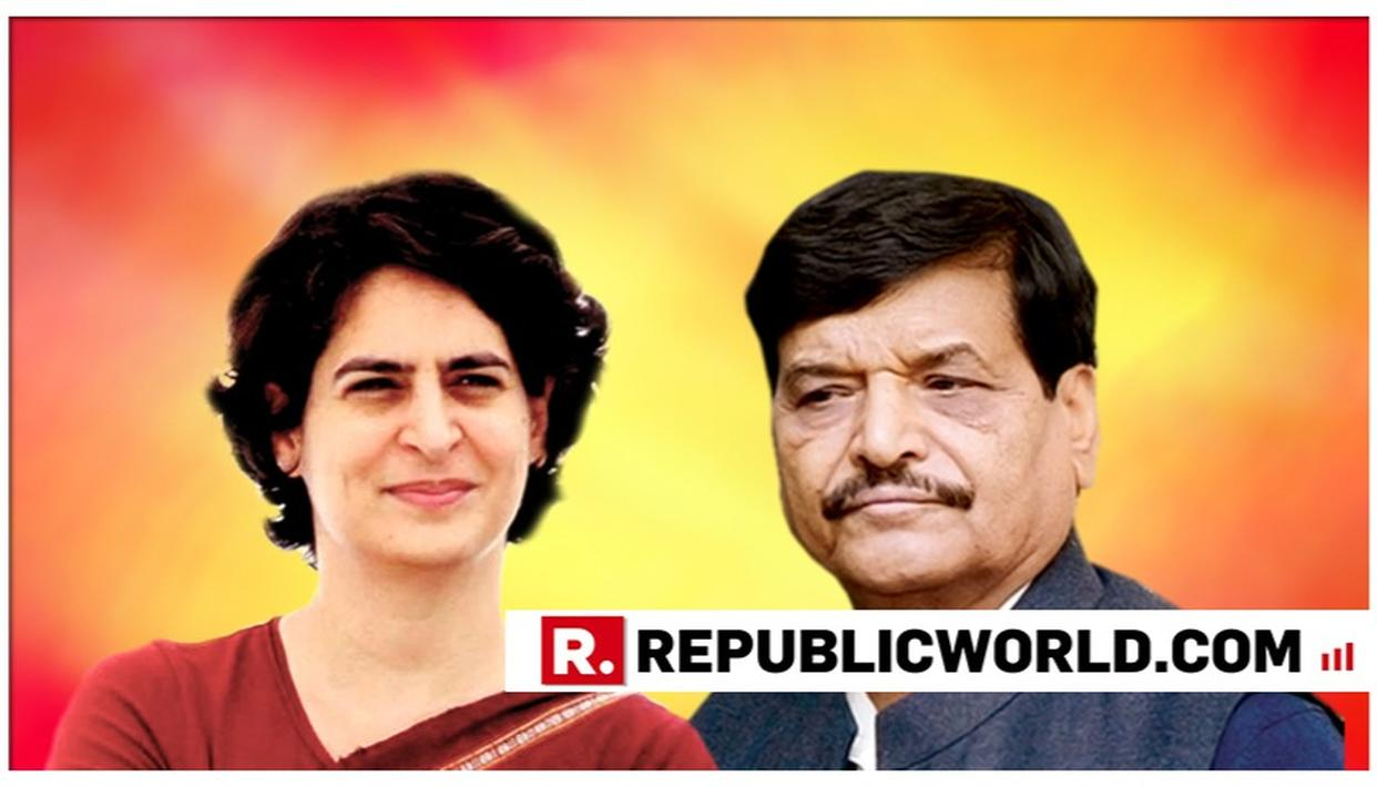 AFTER MAHAN DAL, PRIYANKA GANDHI TO ROPE IN SHIVPAL YADAV'S PSP FOR ALLIANCE WITH CONGRESS IN UTTAR PRADESH, SAYS SOURCES