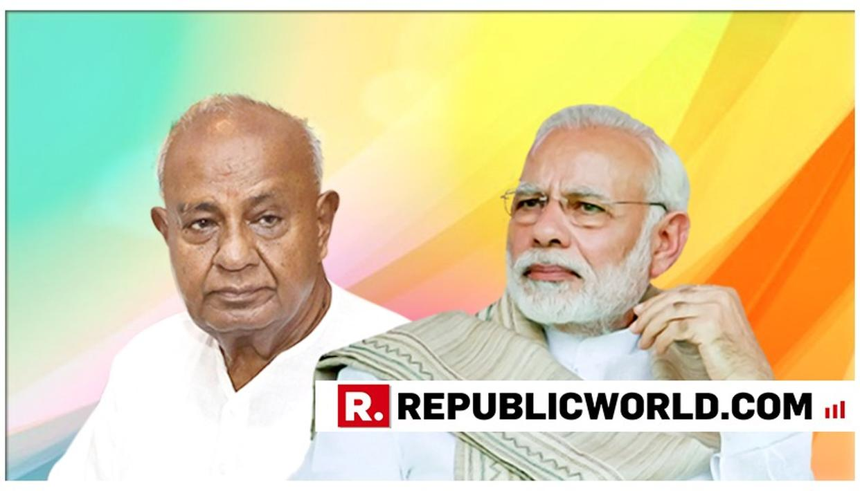 """""""OFFERED TO QUIT FROM LOK SABHA AFTER BJP WON IN 2014, BUT PM MODI ASKED TO CONTINUE"""", SAYS DEVE GOWDA"""