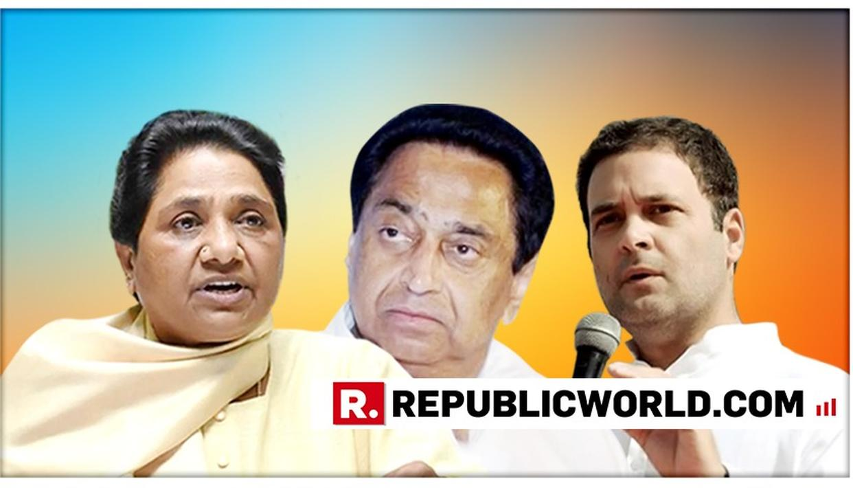 MAYAWATI ATTACKS CONGRESS AFTER KAMAL NATH GOVERNMENT'S CRACKDOWN ON 3 MEN IN AN ALLEGED COW SLAUGHTER CASE