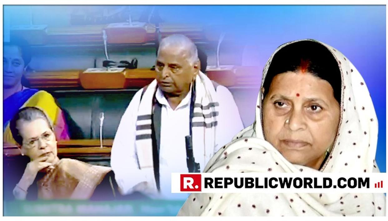 WATCH: RABRI DEVI MOCKS AND DISMISSES MULAYAM SINGH FOR HIS 'NAMO FOR PM' SURPRISE DECLARATION