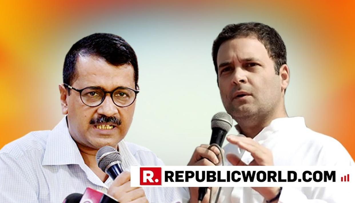 CONGRESS HAS 'MORE OR LESS SAID NO' FOR AN ALLIANCE, SAYS AAP CONVENER ARVIND KEJRIWAL