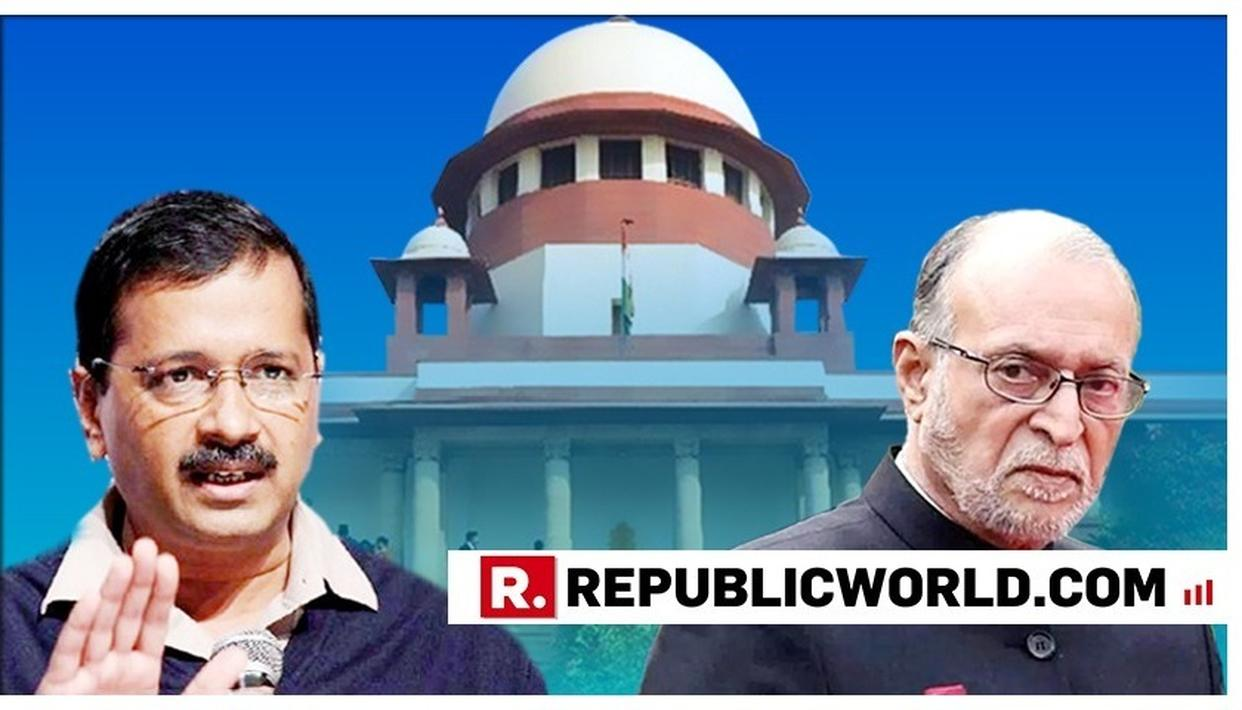 ARVIND KEJRIWAL HAS DECLARED WAR ON THE SUPREME COURT, SAYS BJP ON DELHI CM'S REMARKS AFTER APEX COURT'S JUDGEMENT ON DELHI GOVERNMENT VERSUS DELHI L-G MATTER