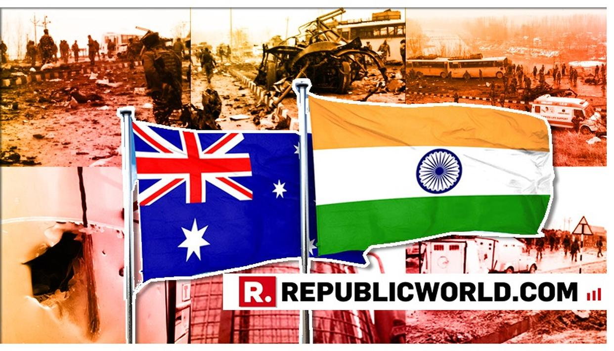 """STAND IN SOLIDARITY WITH INDIA"", SAYS AUSTRALIA CONDEMNING ATTACK IN PULWAMA ON CRPF FORCES"