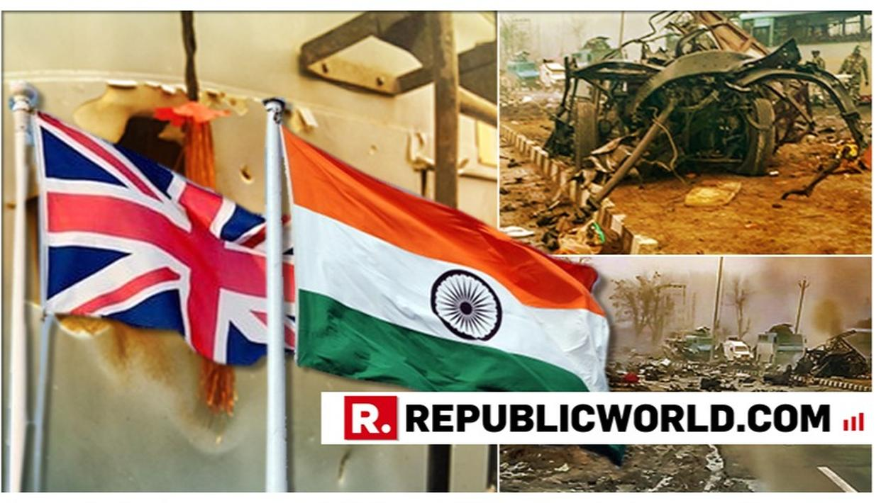 """UK CALLS TERROR ATTACK ON CRPF FORCES IN PULWAMA """"SENSELESS AND BRUTAL"""", EXPRESSES SOLIDARITY WITH INDIA"""