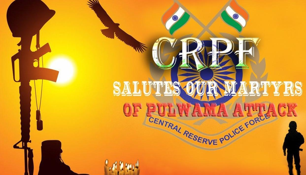 WE WILL NOT FORGET, WE WILL NOT FORGIVE: CRPF SALUTES ITS MARTYR BROTHERS