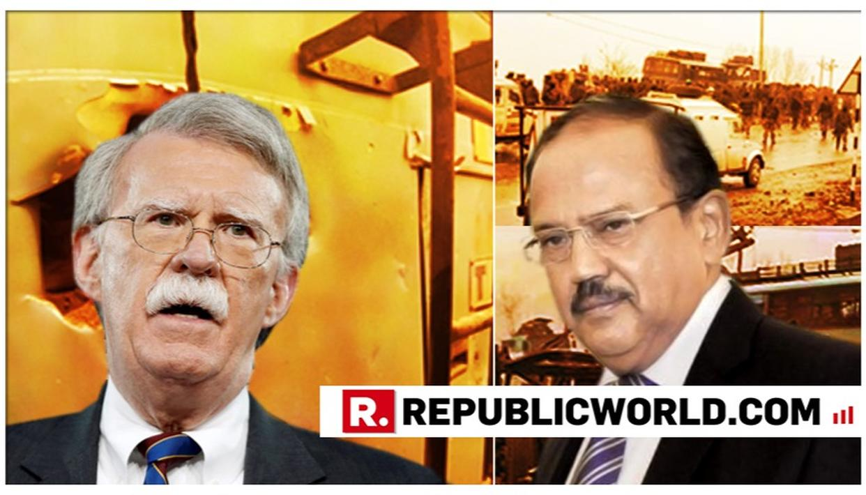 """SUPPORT INDIA'S RIGHT TO SELF-DEFENSE"": US NSA TELLS AJIT DOVAL"