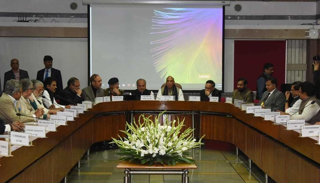 'WE STAND UNITED, CONDEMN PAK'S SUPPORT FOR TERROR': ALL-PARTY MEETING RESOLUTION