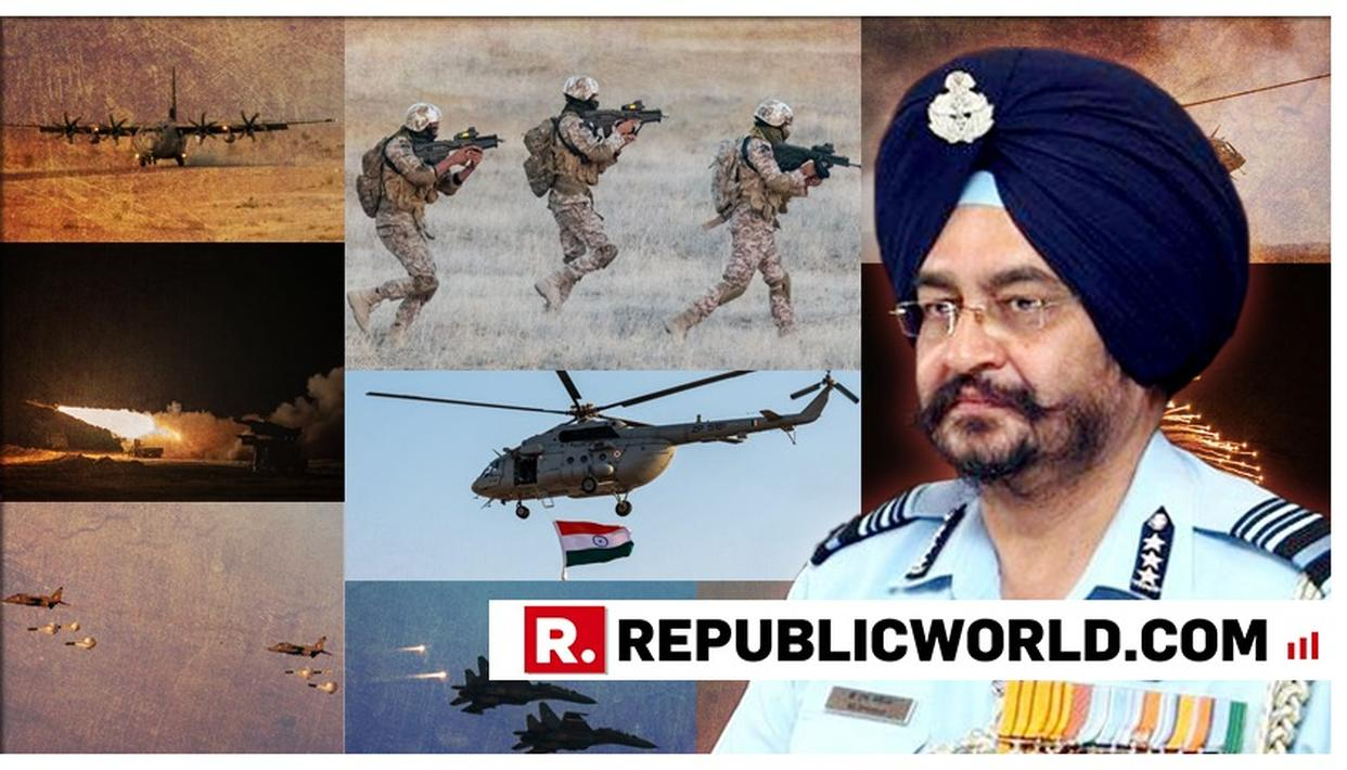"""ENEMY KNOWS THAT IT CAN'T DEFEAT US IN A CONVENTIONAL CONFLICT"": IAF CHIEF BS DHANOA AT VAYU SHAKTI 2019"