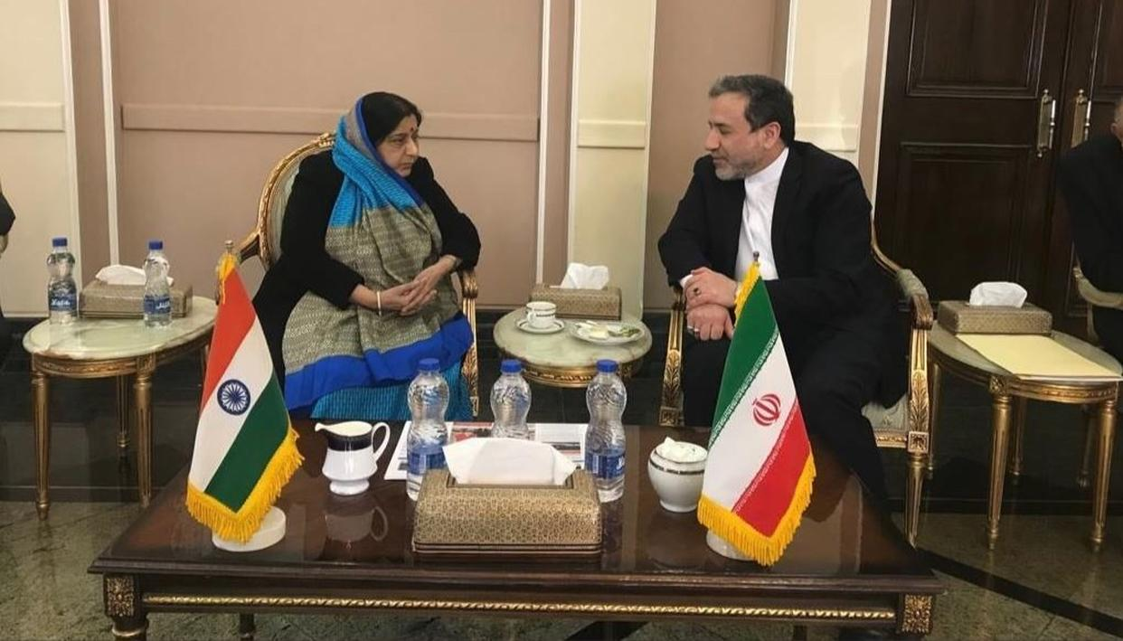 """ENOUGH IS ENOUGH"", SAYS IRAN'S DY FOREIGN MINISTER SEYED ABBAS ARAGCHCHI TO MEA SUSHMA SWARAJ ON TERRORISM"