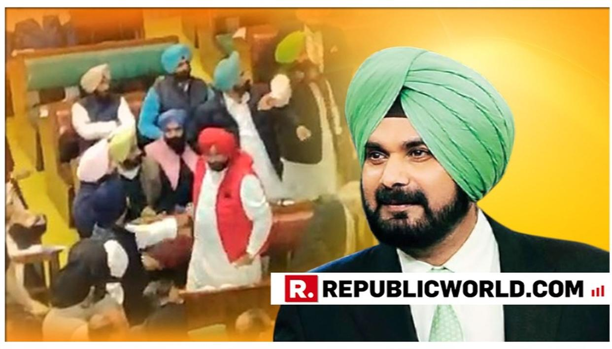 AKALI DAL LEADERS CALL FOR 'ANTI-SIDHU RESOLUTION' OVER HIS PULWAMA ATTACK REMARK; STAGE PROTEST IN PUNJAB ASSEMBLY