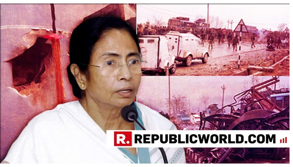 WATCH: MAMATA BANERJEE PLAYS BLAMEGAME ON PULWAMA ATTACK, ACCUSES CENTRE OF STARTING A 'SHADOW WAR FOR POLITICAL GAINS'