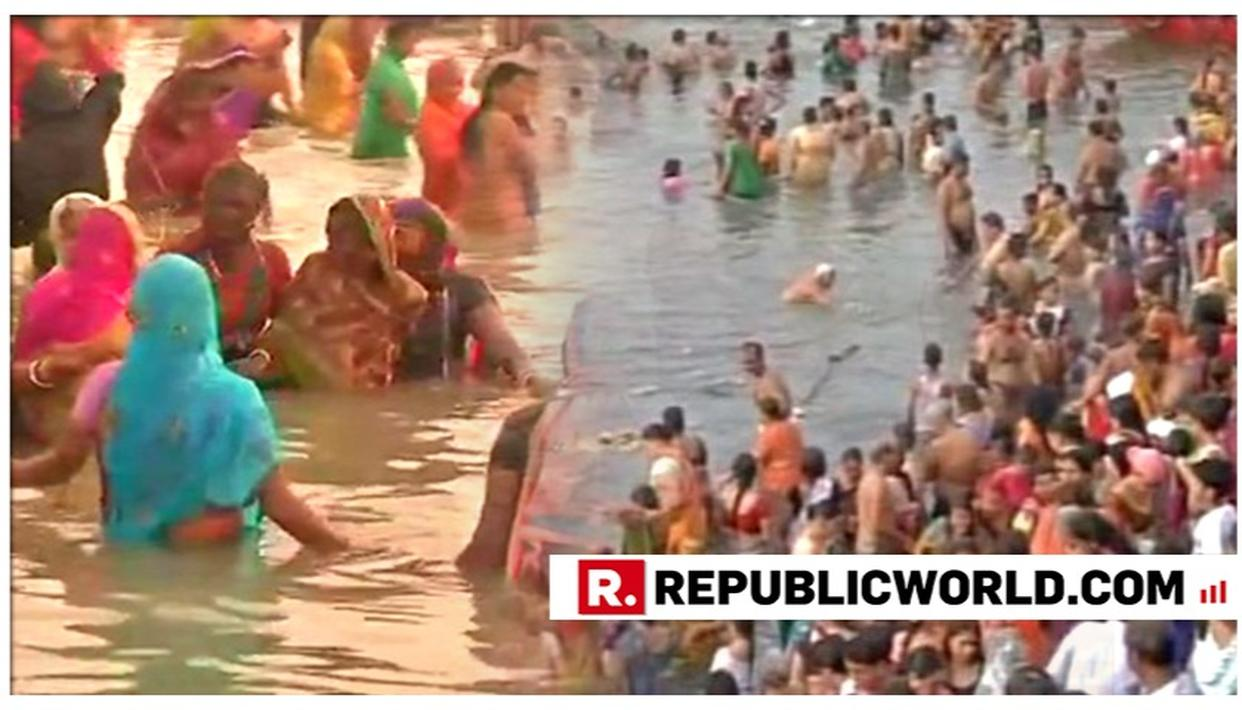 KUMBH MELA ATTRACTS DROVES OF PILGRIMS ON MAGHI PURNIMA