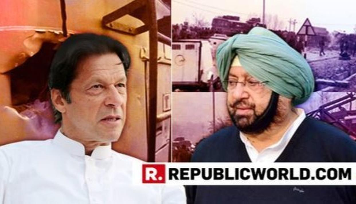 'GO PICK UP MASOOD AZHAR, IF YOU CAN'T, WE'LL DO IT FOR YOU', SAYS PUNJAB CM AMARINDER SINGH TO PAK PM IMRAN KHAN