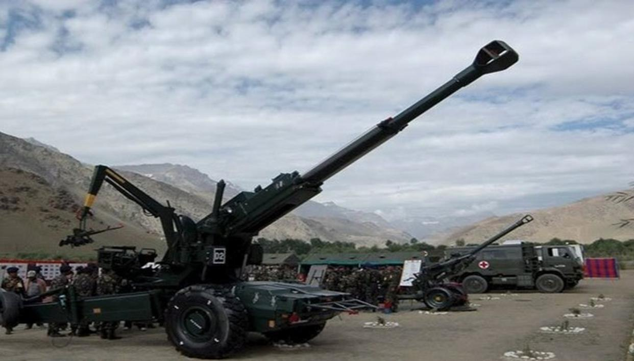 OFB GETS CLEARANCE FOR PRODUCTION OF 114  'DHANUSH' LONG-RANGE ARTILLERY GUNS