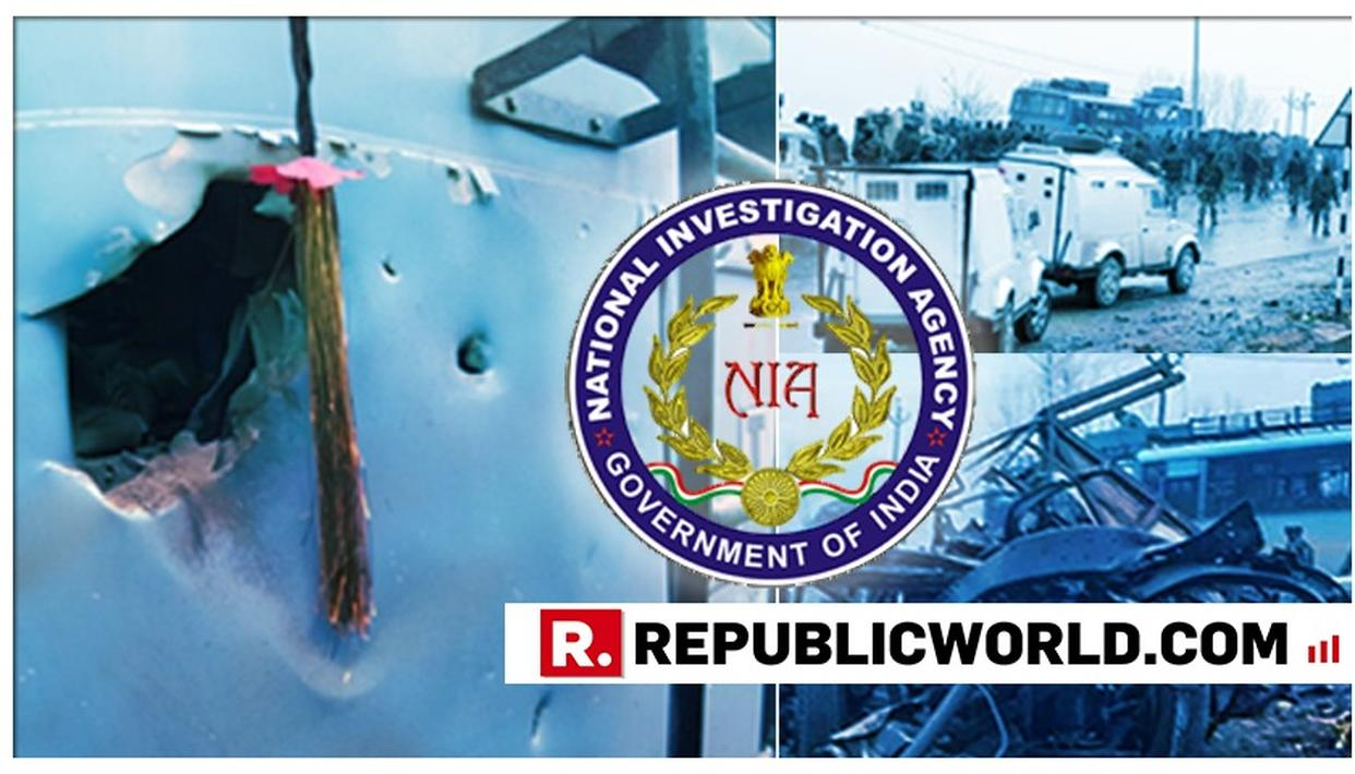 NIA OFFICIALLY REGISTERS FIR IN THE PULWAMA TERROR ATTACK CASE