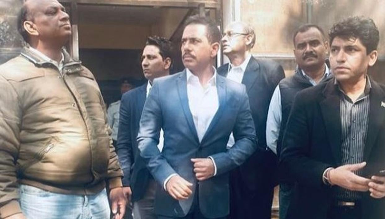 ROBERT VADRA TAKES DIG AT AGENCIES AMID BIKANER CASE GRILLING, SHARES 'STYLE AND HEALTH TIP'