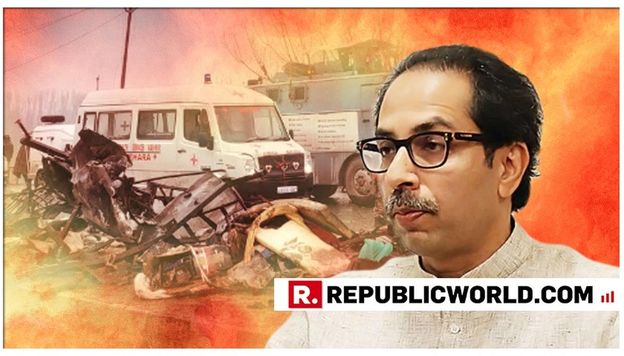 SHIV SENA QUESTIONS INDIA'S RESPONSE TO PULWAMA TERROR ATTACK