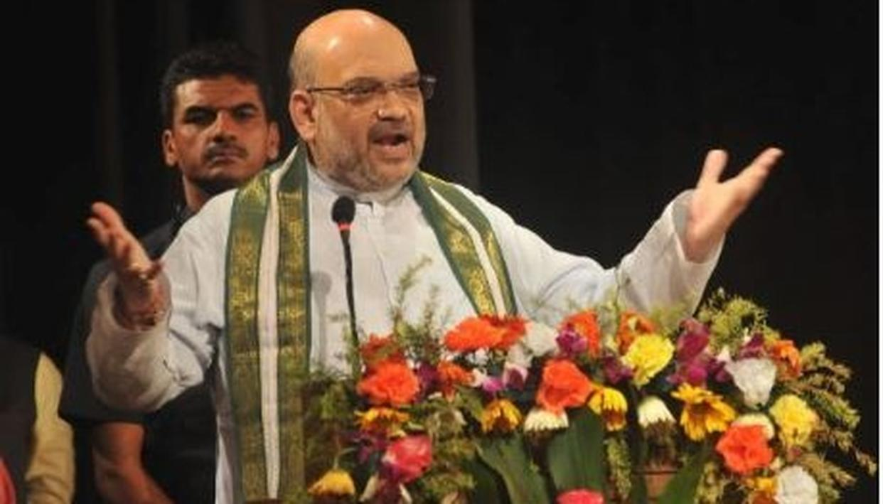 """""""THIS DHAI CM SARKAR CANNOT DEVELOP STATE"""", BJP PRESIDENT AMIT SHAH SAYS KARNATAKA IS BEING GOVERNED BY """"2.5 CHIEF MINISTERS"""""""