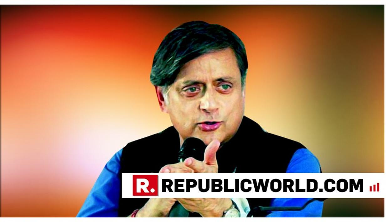 "CONGRESS' SHASHI THAROOR CONTINUES HIS TWITTER TIRADE OVER CRICKET WITH PAKISTAN, SAYS ""BJP WANTS TO DIVERT ATTENTION FROM ITS OWN FECKLESSNESS"""