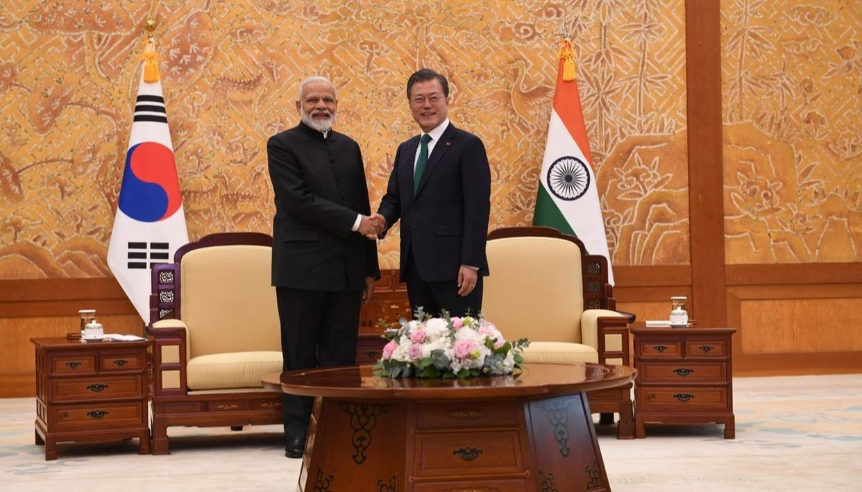 INDIA, SOUTH KOREA SIGN 6 PACTS; TO STEP-UP COOPERATION IN INFRASTRUCTURE, COMBATING GLOBAL CRIME