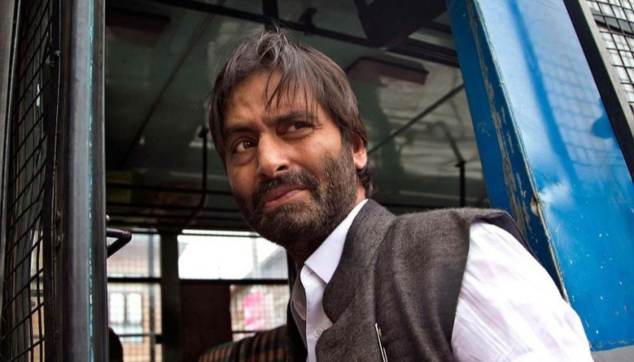 JKLF CHIEF YASIN MALIK ARRESTED FROM HIS J&K RESIDENCE
